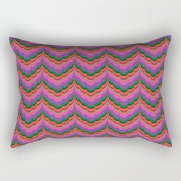 Bargello Berry Rectangular Pillow