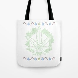 Weed Ugly Christmas - Be Hippie Always Tote Bag
