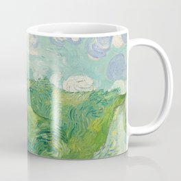 Green Wheat Fields, Auvers, 1890, Vincent van Gogh Coffee Mug