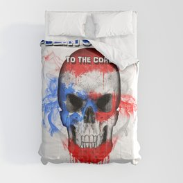 To The Core Collection: Puerto Rico Comforters