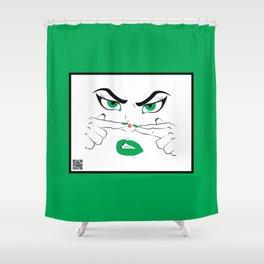Pimple Shower Curtain
