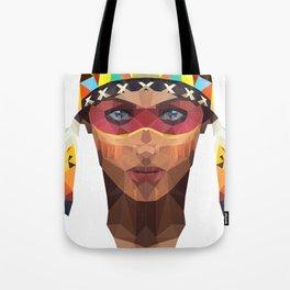native america girl Tote Bag