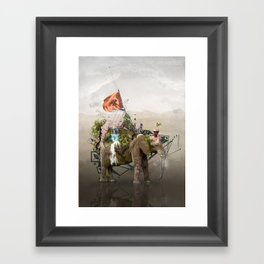 Lost Continent Framed Art Print