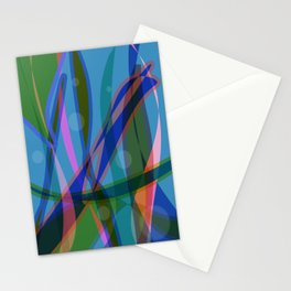 Abstract #355 Stationery Cards