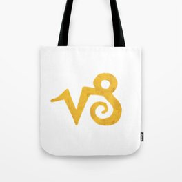 Capricorn Golden Sign Tote Bag