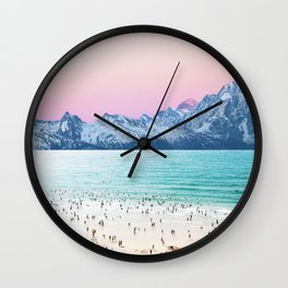 The Island Wall Clock