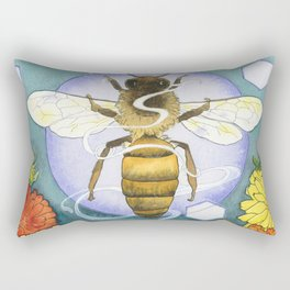 Spirit of the Bee Rectangular Pillow