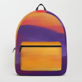 Sunset Landscape Backpack