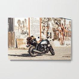 Moto trip Metal Print