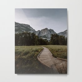 YOSEMITE PATH Metal Print