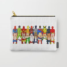 Superhero Butts Carry-All Pouch