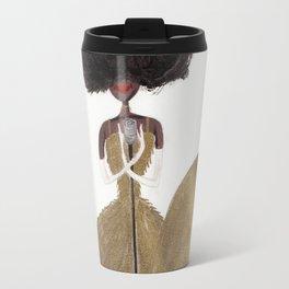 Soul Singer Mermaid by Ashley Nada Travel Mug