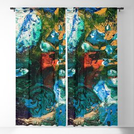 Mini World Environmental Blues 1 Blackout Curtain