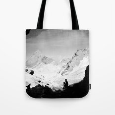 Snowy Isolation Tote Bag
