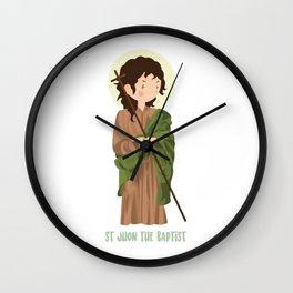 Sant John The Baptist Wall Clock
