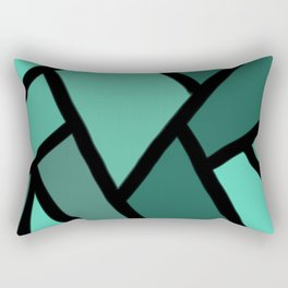 Line stitch Rectangular Pillow