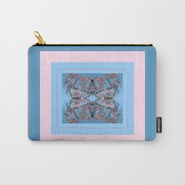 Magnolia Mandala Carry-All Pouch
