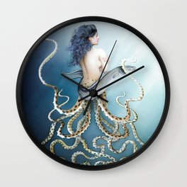 Sea Sisters - Callisto Wall Clock