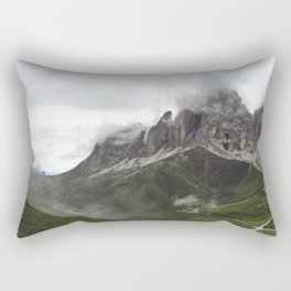 alps photo Rectangular Pillow