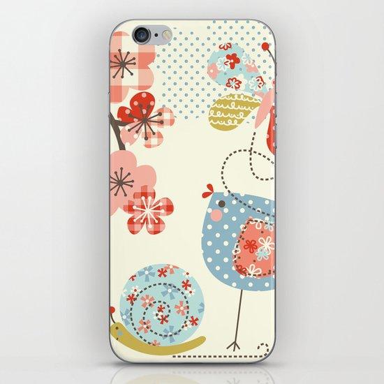 Spring Birdie iPhone & iPod Skin