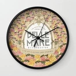 Belle Mare Buzzsession Cover Art Wall Clock