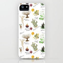 Herbology Pattern iPhone Case