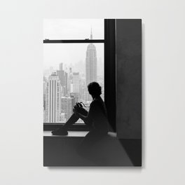 New York State of Mind X Metal Print