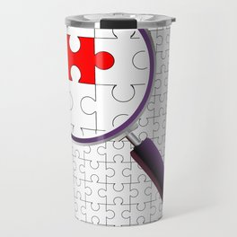 Odd Piece Magnifying Glass Travel Mug