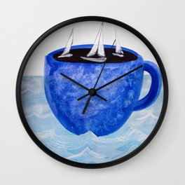 The Wind in Your Sails Wall Clock
