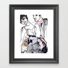 When we dance Framed Art Print