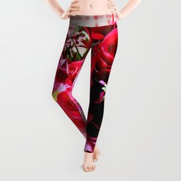 Hearts And Flowers Leggings