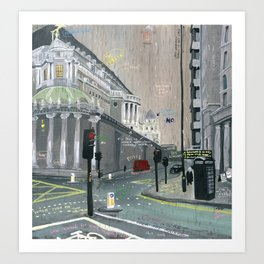 London #1. Near St. Paul's Art Print