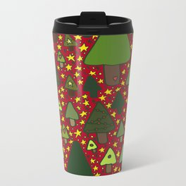 Small Trees Metal Travel Mug