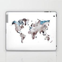 world map 73 Laptop & iPad Skin