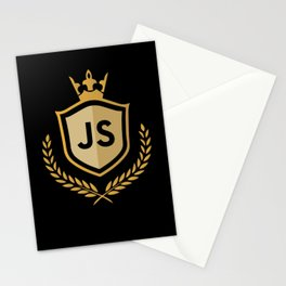Javascript Royal Premium Design for JS Developers Stationery Cards