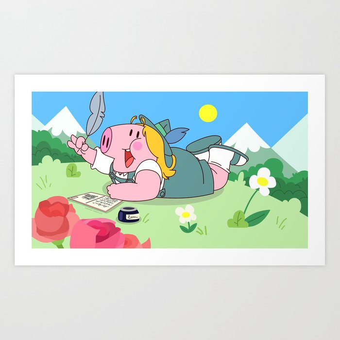 Strubel (Peepoodo) Art Print