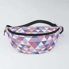 Patterned Triangles #triangle Fanny Pack