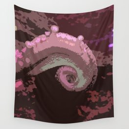 Color Octopus Arm Wall Tapestry