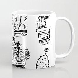 Succulents & Cactus Coffee Mug