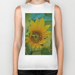 Sunflower Solar System Biker Tank