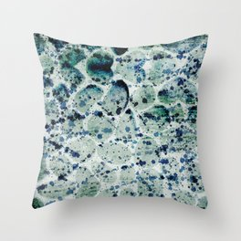 Rock Splash Throw Pillow