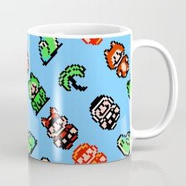 Super Mario Bros. 3 (NES) pattern (blue sky) Coffee Mug