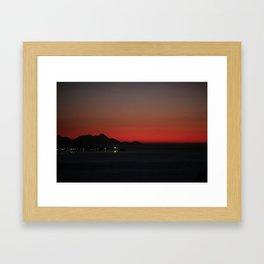 Sunrise Rio de Janeiro   Brazil Framed Art Print