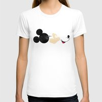 mickey T-shirts featuring Deconstructing Mickey by ErDavid