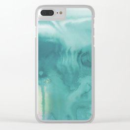 A Tranquil Dream No.1t by Kathy Morton Stanion Clear iPhone Case