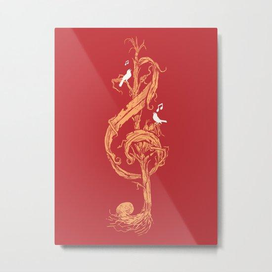 Natural Melody Metal Print