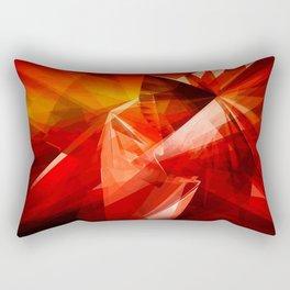 Abstrakt - Feuer der Leidenschaft Rectangular Pillow