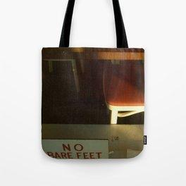 no bare feet Tote Bag