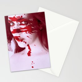 Blinded by Blood Stationery Cards