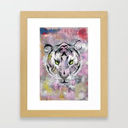 """Tiger Tiger"" Framed Art Print"
